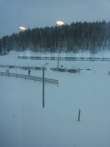 Frol il`s skiskyttere trener 2 juledag