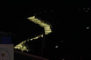 Monsterbakken Alpe Cermis Foto: Vidar A