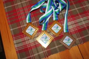 Årets medaljefangst fra Syktywkar i Russland Foto: Skigal