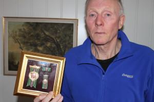 Fortjeneste medalje i Gull fra Det Frivillige Skyttervesen. Foto: Skigal