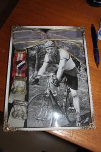 Sverre var også en meget god sykkellist for IL Sverre i sine unge år Foto:Skigal