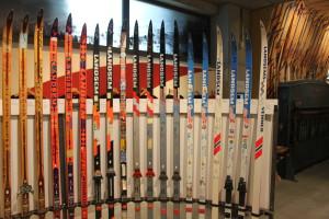 Fra Landsem utstilling på Rindal Skimuseum Foto: Skigal