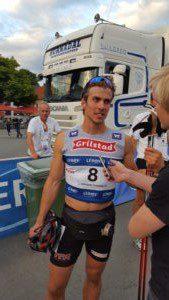 Sprint suksess for kretslags løper fra Nord Trøndelag Thomas Albertsen Dahlen. Foto: Skigal